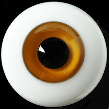 Good 14mm Brown Iris with stripes Glass Eyes for Ball Joint 1/4 BJD Dollfie