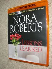 Lessons Learned - MP3 CD By Nora Roberts.