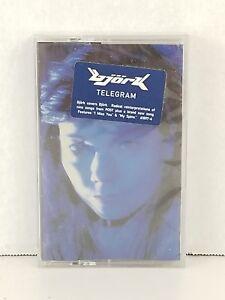 bjork telegram sealed cassette Elektra 618974sr USA 1996
