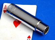 """SK Tool 1/2"""" Drive 13mm Deep Metric 12-point SuperKrome Chrome Socket Wrench NEW"""