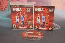 NBA 2K13 USA RÉGION FREE PLAYSTATION 3 PS3 TRANSPORT MULTIPLE