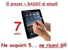 """Pellicola per Tablet 7"""" pollici univerale"""