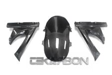 2006 - 2010 Buell XB12 Carbon Fiber Front Fender Mud Guard Cover 3pc - 2x2 twill