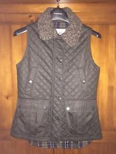 Jack Murphy Ladies Vivian Fur Wax Like Gilet Size 8 RRP £99.99 Christmas Present