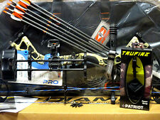 2018 Diamond Bowtech Infinite Edge Pro LH CAMO Bow UPGRADED Package Left Handed
