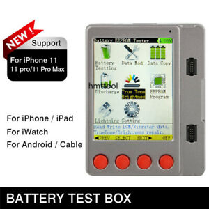 Data Line Battery LCD Screen Cable Tester BOX For iPhone 11Pro Android iWatch