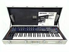 KORG PolySix Vintage Analog Programmable Synth w/ Original Case & Manuals PS-6