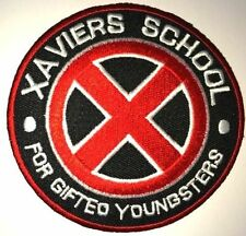 "MARVEL COMICS X-MEN MOVIE XAVIERS SCHOOL LOGO PATCH3.5"" IRON/SEW ON US/FREE SHIP"