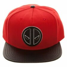 Official ~Marvel Deadpool Carbon Fiber~Snapback Cap~Bioworld~New in bag-NWT