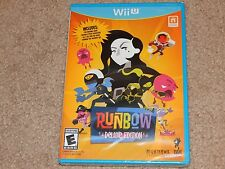 New! Runbow: Deluxe Edition Nintendo Wii U Free Shipping Action Extra DLC