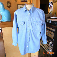 "CHEMISE JEAN HOMME ""STONE VALLEY"" VINTAGE 80 T2 / MAN SHIRT JEAN  VINTAGE 80 T2"