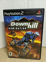 Downhill Domination (PlayStation 2, 2003) PS2 Complete w/ Case & Disc, No Manual
