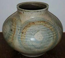 Albert Borch Studio Pottery Vase Signed 1966 Master Of Ceramics