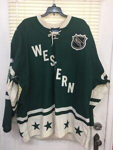Authentic CCM Marleau All Star Jersey Minnesota 2004 w/ Fighting Strap New