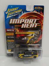 Johnny Lightning Import Heat 1998 Honda Civic Custom 1 Of 2016 Bishop Yellow