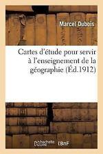 Cartes d'Etude Pour Servir a l'Enseignement de la Geographie 3e Ed by...