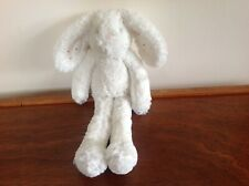 NEXT MY BEST FRIEND WHITE BUNNY RABBIT SOFT TOY WITH PINK SPOTTY EARS VGC