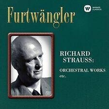 Wilhelm Furtwangler - Richard Strauss: Orchestral Works Et [New SACD] Japan - Im