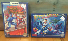New iam8bit x Capcom Mega Man 2 & X NES SNES Nintendo Anniversary Game Lot