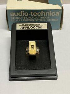 Audio-Technica AT-F5 OCC MC Phono Cartridge