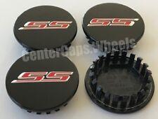 """2005-2017 Chevrolet SS GLOSS BLACKCenter Caps 2 5/8"""" Part #9595010 68mm"""
