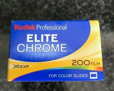 Kodak Professional Elite color 200 36 exp 35 film expired