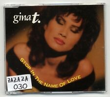 Gina T. Maxi-CD Stop In The Name Of Love - 4-track - Bellaphon 130 31 071