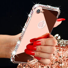Luxury Bling Diamond Crystal Hard Protective Case Cover For iphone 7 7 Plus 6s 6