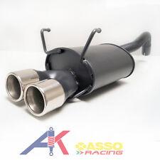 Sportauspuff Endschalldämpfer 2x76mm FIAT 500 (312) ab 2007