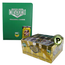 NRL 2013 RUGBY LEAGUE - Elite Trading Cards Sealed Box (24ct) & Collector Album