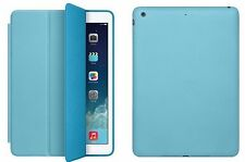 FUNDA SMART COVER CASE + PROT. + STYLUS TABLET APPLE IPAD 6 IPAD AIR 2 - AZUL