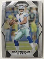 2017 Panini Prizm Silver Dak Prescott #67 Dallas Cowboys 2nd Year Football Card