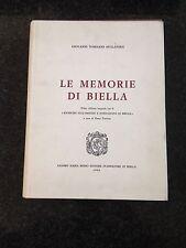 LE MEMORIE DI BIELLA - Giovanni Tommaso Mullatera - 1968