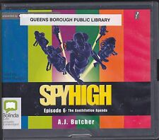 The Annihilation Agenda by A. J. Butcher (2012, CD, Unabridged) Spy High Book 6