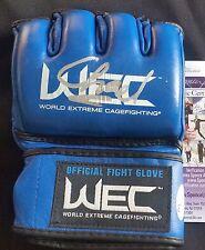 Chael Sonnen Autographed Glove JSA Signed UFC WEC BELLATOR PSA Autograph Topps 2