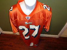 MIAMI DOLPHINS CUSTOM #27 QUINTERO Football NFL Jersey SIZE ADULT MEDIUIM
