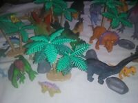 Animal Planet 45 Piece Complete Mega Dino Tub EUC