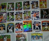 2021 Topps Baseball Series 1 donruss altuve Verlander  Houston Astros 21 cards