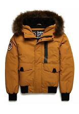 Superdry Men's Everest Bomber Jacket: Yellow - M5000039A-IL8