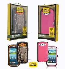 New! Otterbox Defender Series case & Holster Belt Clip for Samsung Galaxy S3 III