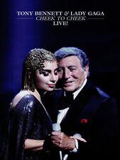 BENNETT TONY & LADY GAGA CHEEK TO CHEEK LIVE DVD NEW