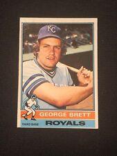 1976 Topps George Brett #19 NM Kansas City Royals HOF *14