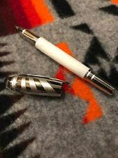 New Montblanc Starwalker Ceramics Doue White Fineliner Or Rollerball MB114792