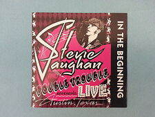 """STEVIE  RAY  VAUGHAN  &  DOUBLE  TROUBLE       """"IN  THE  BEGINNING""""    CD / USED"""