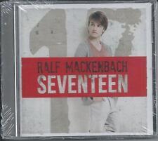 RALF MACKENBACH - Seventeen CD Album 12TR Europop / Eurodance 2012 HOLLAND