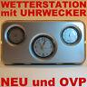 Wetterstation - Hygrometer, Weckeruhr, Thermometer inkl. Batterie - NEU und OVP