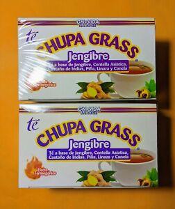 CHUPA GRASS Te 2x † Tea Based GINGER † GOTU KOLA †CINNAMON †TE JENGIBRE MEXICANO
