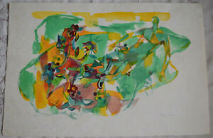 Lithographie De Claude Schurr Terre De Cybele Signee Numerotee Serie Riviera Tbe