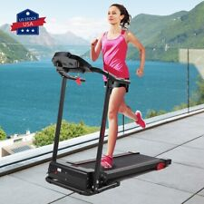 Folding Treadmill 2.0 HP Electric Motorized Fitness Running Home Machine Incline