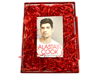 Valentines Day For Him SIGNED ALASTAIR COOK autobiography GIFT BOX Valentine